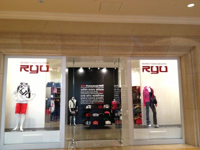 RYU signs lease for first flagship retail store at the shoppes at the palazzo in las vegas