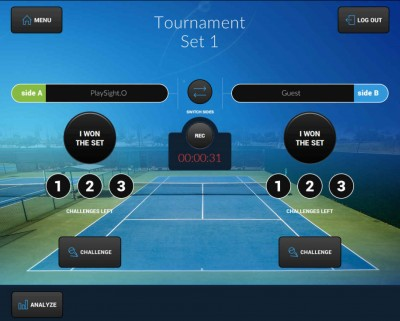 playsight introduces playfair challenge system to reduce bad line calls in tennis