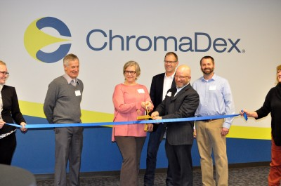 chromadex opens new state-of-the-art research and development center